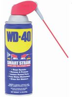 WD40 LUBRICANT, 12OZ AEROSOL CAN WITH SMART STRAW