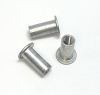 1/4-20 KN RIVET NUT THIN WALL .165-.260 GRIP YZ